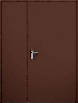 Drzwi ECO dwuskrzydlowe niesymetryczne
